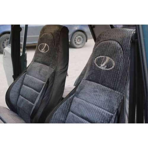 Автомобильные чехлы в салон ВАЗ Lada 2107 гобелен 1982-2014  ПИЛОТ (PR