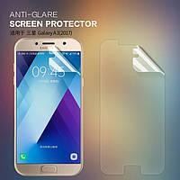 Защитная пленка Nillkin для Samsung Galaxy A3 2017 Duos SM-A320 матовая