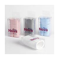 Набор пластиковых колец для карниза Prima nova (белый)
