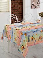 Скатерть Eponj Home - Romy turuncu 3D 155*180