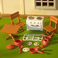 Набор мебели Happy Family Кухня с посудой