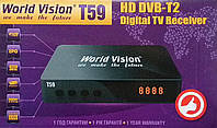 Т2 тюнер World Vision Т59  dvb t2 \ цифровая приставка