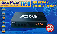 Т2 тюнер World Vision Т59D  dvb t2 АС-3