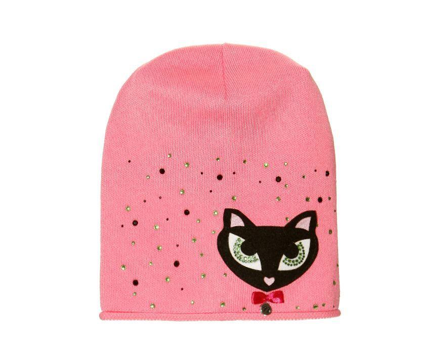 Дитячий модний демісезонний комплект шапка і снуд для дівчинки