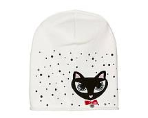 Дитячий модний демісезонний комплект шапка і снуд для дівчинки, фото 2