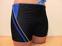 Плавки-шорты мужские Atlantis черный с електрик