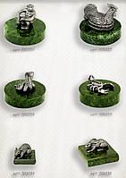 Серебряная статуэтки животных