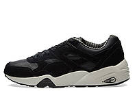 Кроссовки мужские PUMA R698 CITI SERIES Black & Vaporous Grey. Пума R698, интернет магазин