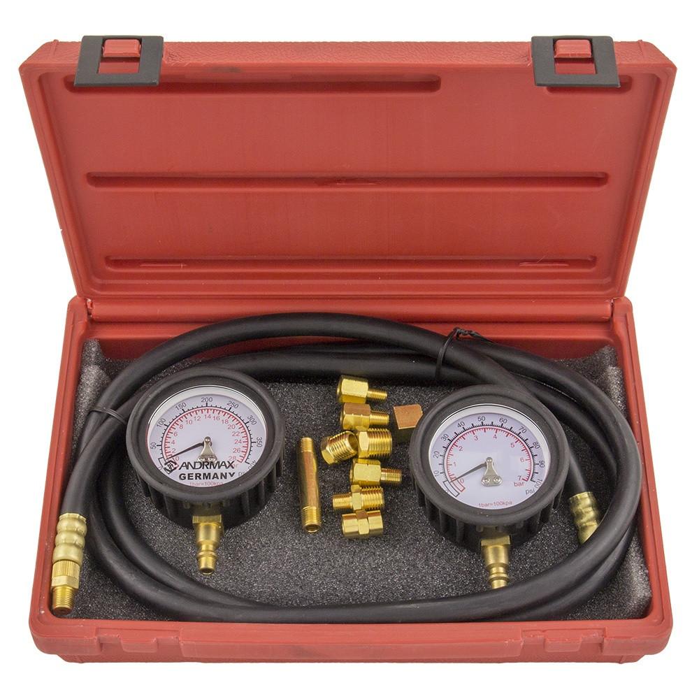 Вимірювач тиску масла 2 в 1 ANDRMAX