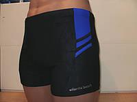 Плавки-шорты мужские Atlantis синий с электрик, фото 1