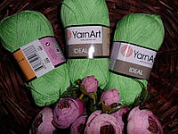 Yarnart Ideal (Ярнарт Идеал) 100% Хлопок 226 салатовый