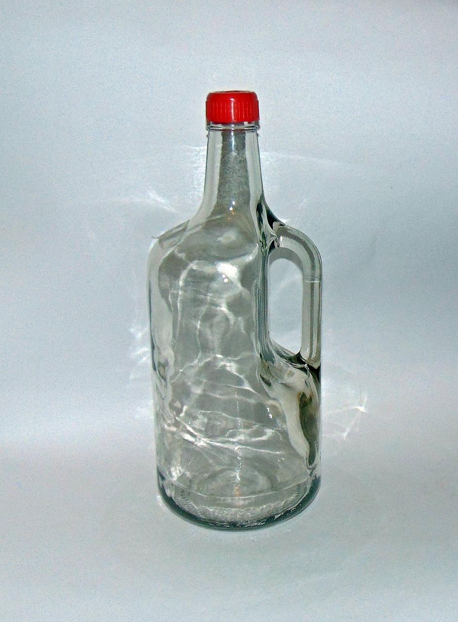 Бутылка 1,75 л с ручкой и крышкой, фото 1