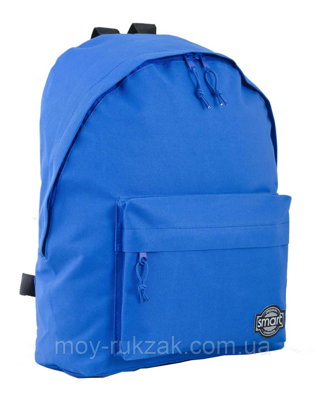 """Рюкзак молодежный """"Blue"""" 1 Вересня SP-15, 553492"""