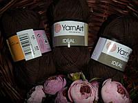 Yarnart Ideal (Ярнарт Идеал) 100% Хлопок 232 шоколад
