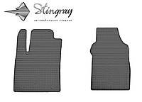 Для автомобилистов коврики Фиат 500 2007- Комплект из 2-х ковриков Черный в салон. Доставка по всей Украине. Оплата при получении