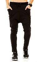 Cпортивные штаны мужские, зауженные, трикотаж