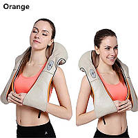 """Роликовый массажер для шеи и плеч с ИК-прогревом """"Оранж"""""""