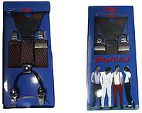 Подтяжки мужские для брюк в полоску LM638