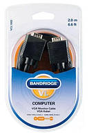 Кабель аналоговый видео Bandridge ValueLine VCL1002, 2 м (5741389)