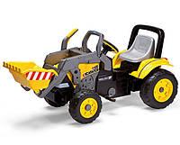 Детский Экскаватор педальный Peg Perego  MAXI EXCAVATOR Италия желтый