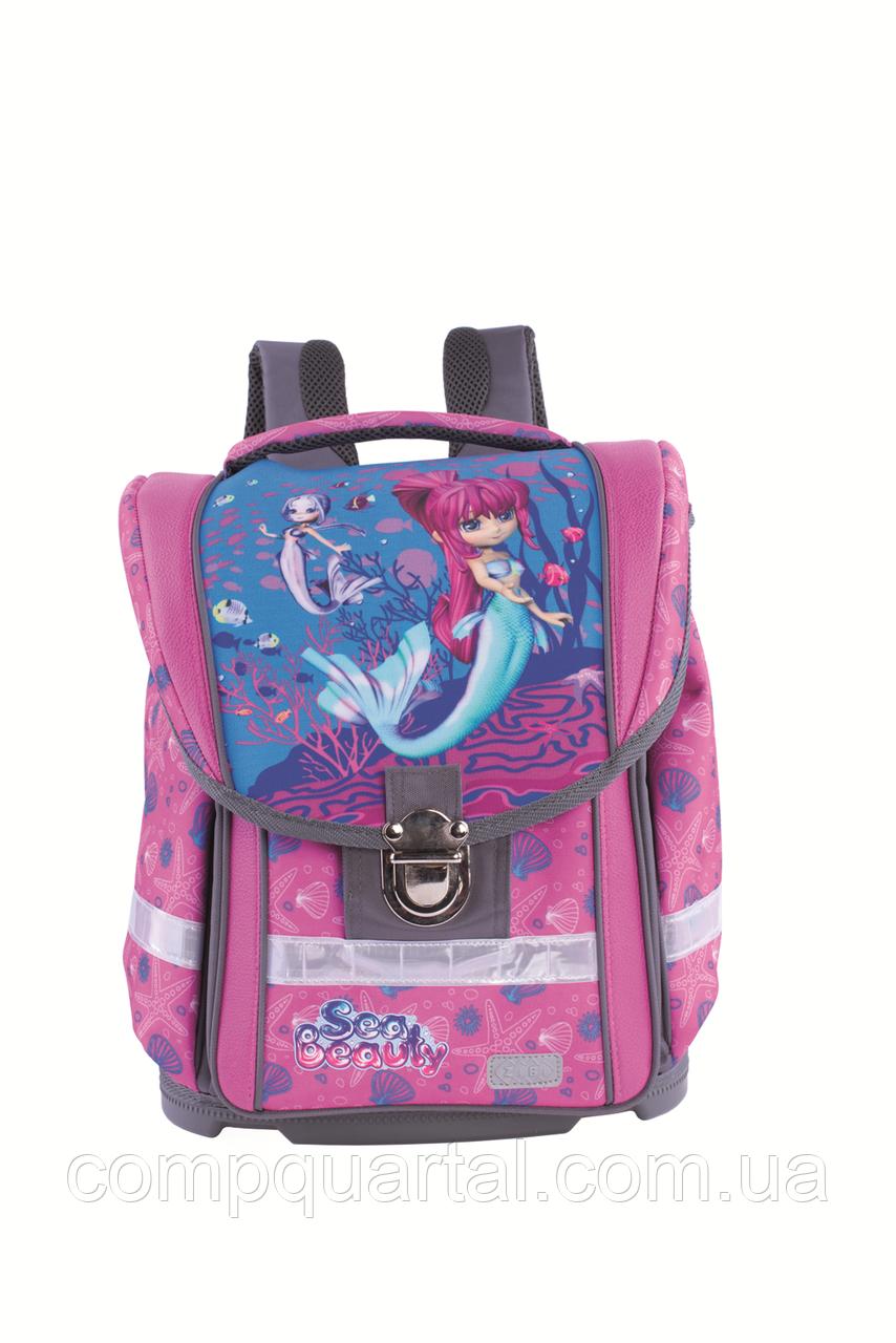 Рюкзак шкільний ZiBi SEA BEAUTY MAXI (14.0119SB) каркасний