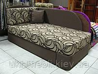 Детский раскладной диван кушетка с нишей для белья Нильс, МебельОВ