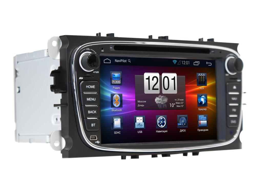 Штатная магнитола Ford Focus 2 ,  Mondeo 2008+, C-Max, S-Max, Galaxy new Windows