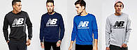 Свитшот мужской спортивный New Balance 4 цвета
