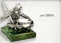 """Серебряная статуэтка  """"Обезьяна"""""""