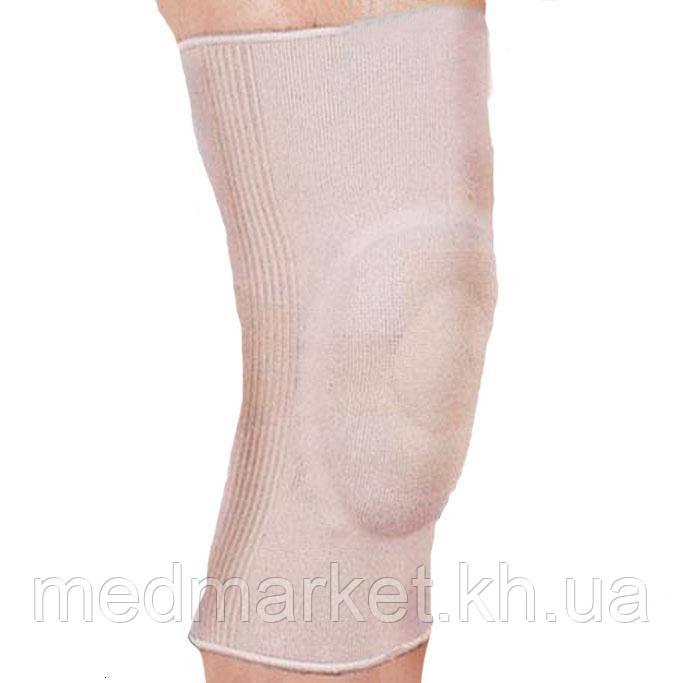 Бандаж эластичный на коленный сустав с гелевым кольцом алезан для суставов химки
