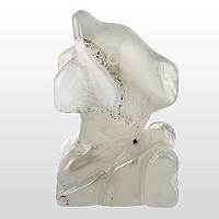 Агат халцедон, статуэтка дельфин, 172ФГХ