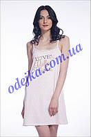Домашнее платье, сорочка женская LND 004/001 (ELLEN). Коллекция весна-лето 2017! Спешите быть первыми!