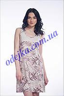 Домашнее платье, сорочка женская LND 034/001 (ELLEN). Коллекция весна-лето 2017! Спешите быть первыми!
