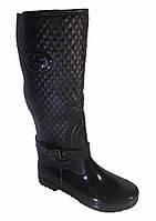 Резиновые сапоги на меху женские 39