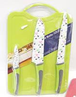 Набор кухонных ножей c дощечкой Giakoma G-8134
