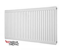 Радиатор стальной AquaTronic  класс22  500H x1400L ниж. подкл.