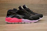 Кроссовки мужские Nike Huarache 2013 черные