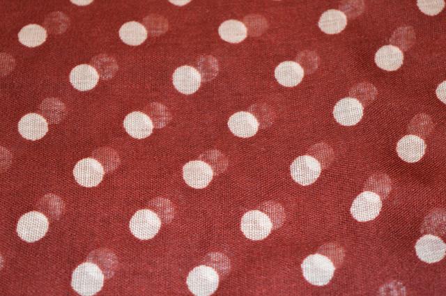 Весенний шарф снуд Алира бордовый 3