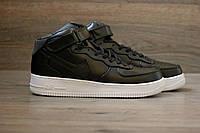 Кроссовки мужские Nike Air Force Mid 2021 черные