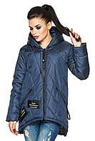 Женская стильная ассиметричная куртка Весна 2017 (рр 44-54), разные цвета