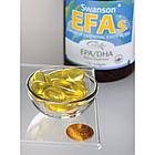 Swanson EPA/DHA  омега 3 рыбий жир 1200 мг с лимоном, 120  капсул, фото 2