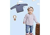 Кофта на завязке для деток-404( синий ,розовый )