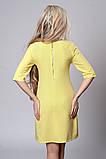 Платье мод. 281-2,размер 48 светло желтое, фото 2