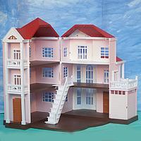 Трехэтажный домик-особняк Anbeiya family