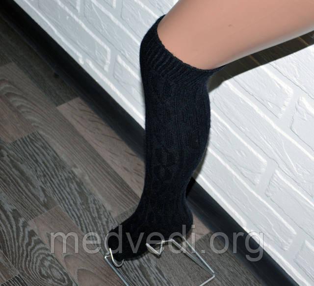 Купить черные женские гетры до колена
