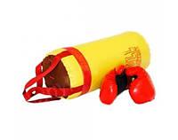 "Боксерский набор Большой ""Full"" желтый 0004DT"