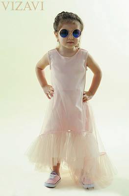 Платье детское Ткань : евро Сетка (мягкая , не цепляет колготки) подкладка - супер софт , Южная Корея Размер :