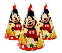 """Колпачки праздничные """"Микки Маус"""". Размер: 16 см"""