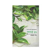 Увлажняющая тканевая маска Nature Republic Real Nature Mask Sheet - Green Tea