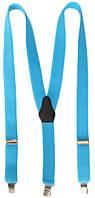 Подтяжки мужские для брюк однотонные LM638